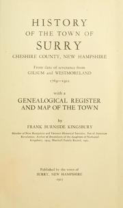 Kingsbury History Book