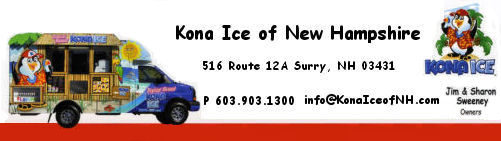 Kona Ice of New Hampshire