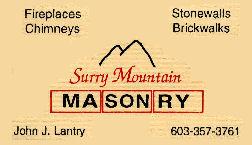 Surry Mountain Masonry - Surry, NH